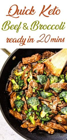 Instead of wasting your time in finding the right Low Carb recipe which can serve a purpose of a family meal too , I have collected best keto beef and broccoli stir fry recipes which you can easily make in 15 minutes or less.