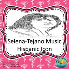 Introduce your students to the Queen of Tejano Music, Selena Quintanilla-Perez.  The students will be able to read an article about Selena and complete cloze sentences from it.  Have your students create a character sketch and design an item for Selena's boutique.