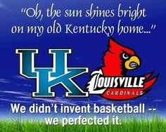 Kentucky is basketball country!