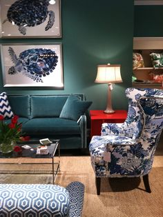 moody colors.  CR Laine | High Point Market | The Pursuit of Style... chair