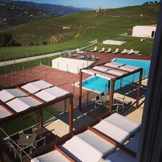 This mornings view by hpholly Douro Valley, Morning View, Five Star Hotel, In The Heart, Wine Country, Mornings, Terrace, Vineyard, Portugal