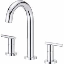 Danze Two Handle Widespread Bathroom Faucet with Touch Down Drain 1.2 GPM