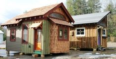 Hobbitat Tiny House Builder Offers Micro to Small Reclaimed Cabins Photo
