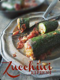 The Brooklyn Ragazza: DaVinci Storyteller Experience: Zucchini Ripieni ~ Stuffed Zucchini