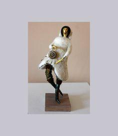 Shaman OOAK art doll  Нandmade doll Art sculpture by JuliasArtStore on Etsy