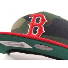 3ad9a5ed291 Boston Red Sox New Era fitted hat custom made in everyones favorite fabric
