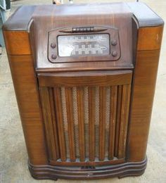 "Old Radio.  Only ""The Shadow"" Knows........  My father loved that show...put his chair in front of the radio and his ear right next to it."