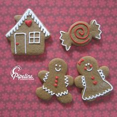 cute idea for gingerbread cookies