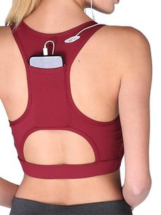 Push Up Seamless Sports Bra With Pocket Back – WhatsMode Workout Attire, Workout Wear, Sport Fashion, Fitness Fashion, Sports Day Outfit, Cute Hiking Outfit, Estilo Fitness, Sporty Outfits, Sports Women