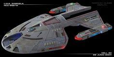"""alphamecha: """" It's a shame they lost the digital models for this ship. The Norway is not my favorite class… Star Trek Vi, Star Wars, Star Trek Ships, Trek Deck, Starfleet Ships, Alien Ship, Star Trek Images, Ship Of The Line, Star Trek Starships"""