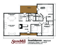 Southhaven Floor Plan