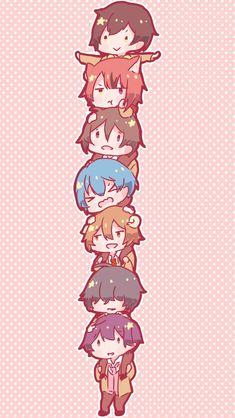 Anime Best Friends, Shugo Chara, People Illustration, Darling In The Franxx, Cute Bears, Anime Artwork, Kawaii Anime Girl, Cute Characters, Anime Chibi