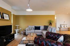 Farrow and Ball India yellow Apartment