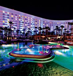 Hard Rock Hotel, Las Vegas. Took an impromptu road trip to Vegas with my friend Jenny....drove from LA to Vegas...our friend who worked for the hotel hooked us up with a fabulous room and a great stay....fun fun fun...not my first choice for a hotel in Vegas though