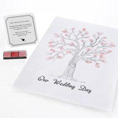 Gästbok / träd för fingeravtryck