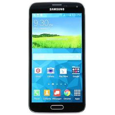 New Overstock Samsung GALAXY S5 SM-G900V 16GB BLACK VERIZON Android PHONE
