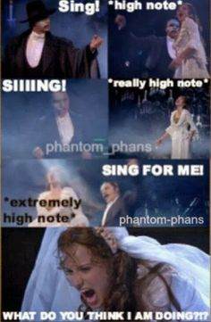 Sink Me!: The Phantom of the Opera. LOL