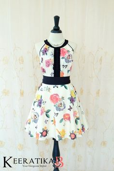 Luna Night Sweet Dress Pleated Top Cottage Roses Floral Print Prom Party Dress Floral Wedding Bridesmaid Dress Floral Summer Sundress XS-XL