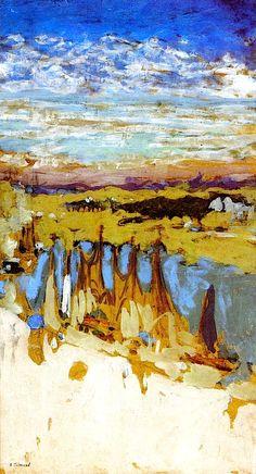 Le Pouliguen Edouard Vuillard  circa 1908 More