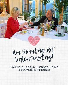 Am Sonntag ist Valentinstag! Macht eurer/m Liebsten eine besondere Freude mit einem Glocknerhof-Gutschein und lasst euch verwöhnen. Einfach bequem online bestellen (gerne auch mit Widmung und eigenem Foto) und gleich downloaden. Viel Freude beim Verschenken. Link in Bio! #valentinstag #liebe #romantik #valentinesday #love #glocknerhof #auszeitverschenken Instagram, Link, Pictures, Valentine Day Love, Family Vacations, Time Out, Sunday, Gift Cards, Glee
