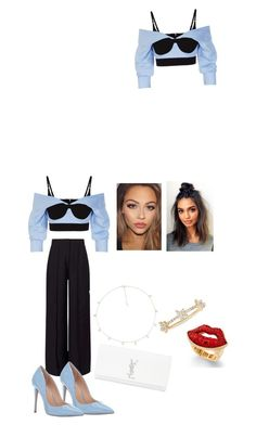 """""""Untitled #122"""" by sweetbabychrissy on Polyvore featuring Alexander Wang, Miss Selfridge, Steve Madden, The M Jewelers NY, EF Collection, Thalia Sodi and Yves Saint Laurent"""