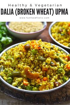 Easy Rice Recipes, Tasty Vegetarian Recipes, Veg Recipes, Healthy Breakfast Recipes, Cooking Recipes, Indian Diet Recipes, Indian Vegetable Recipes, Healthy Indian Food, Recipes