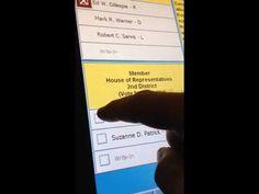 WATCH VIRGINIA VOTE MACHINE FRAUD: Vote For Republican Automatically Registers For Democrat…Today « Pat Dollard