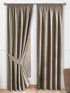 Hamilton Tawny Ready Made Curtains from Curtains 2go