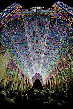 Catedral de LED <3