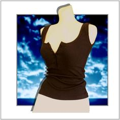 71b5972218fca Top  Amelia Jane Tank Top Button Down www.BeBodySmart.com http