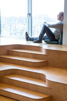 Bambus komprimert natur, kombinasjon av møbelplater og industrigulv // High Density Bamboo Panels and Industrial Flooring Shoe Rack, Home, Bamboo, Nature, House, Homes, Shoe Shelve, Shoe Closet, Houses