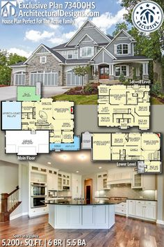 84 best 6 bedroom house plans images in 2019 floor plans house rh pinterest com