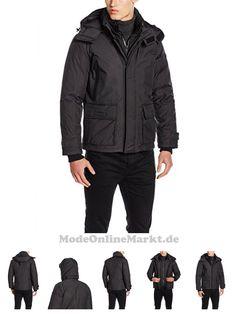 7613289375115 | #Strellson #Premium #Herren #Jacke #11 #Storm #Crasher #Jacket #10001107, #Schwarz #(Schwarz #001), #Small #(Herstellergröße: #46)