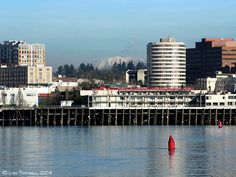 Down town Vancouver Washington from the Oregon side of the Columbia River Vancouver Washington, Washington Usa, Beautiful World, Beautiful Places, Amazing Places, Washington Things To Do, Tourist Info, City Pages, Evergreen State
