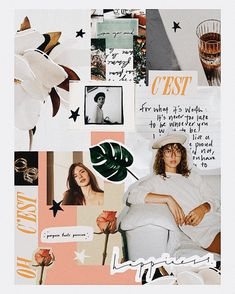 54 Ideas For Fashion Collage Illustration Mood Boards Layout Design, Web Design, Photoshop, Photo Pour Instagram, Instagram Collage, Magazine Collage, Collage Background, Fashion Collage, Fashion Art