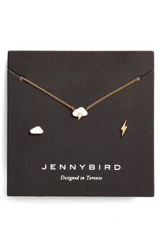 53608d6bc Inspired by the playful symbols of the weather app, this whimsical jewelry  set combines a