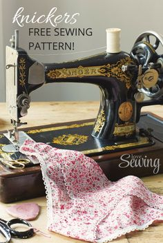 Sew your own knickers!                                                                                                                                                                                 More