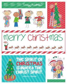 Christmas Blocks Freebie by simplyfreshdesigns.com