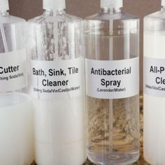 DIY: NATURAL CLEANING