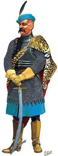 Croatian Hussar Officer (16./17. century)