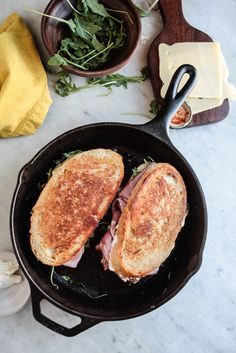 Grilled Ham & Cheese Sandwich with Red Pepper Jelly / The Modern Proper