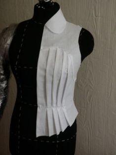 Best Ideas For Vintage Kleding Maken Fashion Sewing, Diy Fashion, Ideias Fashion, Dress Sewing Patterns, Clothing Patterns, Costura Fashion, Pattern Draping, Diy Kleidung, Couture Sewing