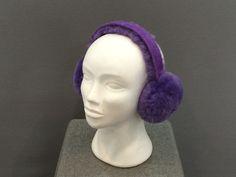 SheepSkin Earmuff Purple