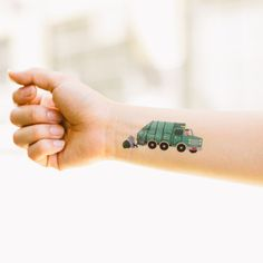 Awesome temporary tattoo for little boys :)