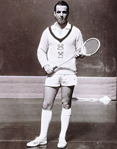 Cable knit tennis sweater.