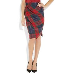 Vivienne Westwood Anglomania Philosophy tartan wool pencil skirt. Big thanks to @pip lincolne for introducing me to this!