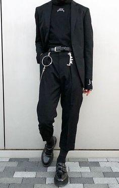 Men Streetwear - Men Streetwear outfits - Men Streetwear urbanwear - Men Streetwear summer - Men Streetwear winter - Men Streetwear c… Fashion Mode, Korean Fashion, Fashion Outfits, Grunge Outfits, Mode Grunge, Grunge Men, Grunge Style, Mode Man, Tokyo Street Fashion