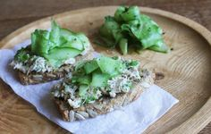 Recipes, breakfast dinner and lunch Ideas, Healthy Dishes & Food Tips -  Smoked Mackerel Pate with Picked Cucumber www.tessward.com