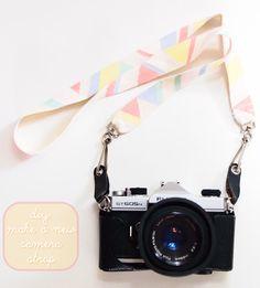 DYI : camera strap
