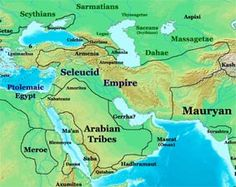 Seleucid Empire - 330-150BC - the remains of Alexander the Great legions and the Achaemenid Persian Empire.